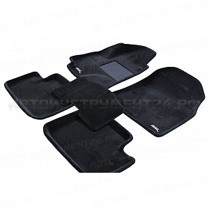 "Коврики Lexus RX II/ Harrier 2003-2008г 3D черный ""Royal Magic Mat"""