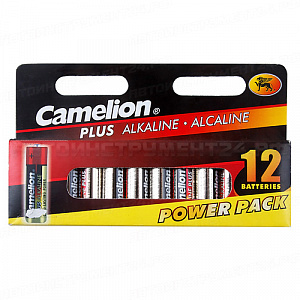 Элемент питания AA: LR6-BC12 ALKALINE PLUS 1,5V CAMELION /12/144/576 HIT